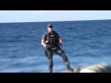 Видео со съёмок фильма «Морской бой»