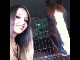 Filming a video with the cutest little horsies!!!