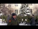 Присяга в\ч 83531 г.Ульяновск 22 января 2012 года