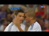 Супер гол Криштиану Роналду в ворота Барселоны на 19 минуте.