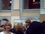 Оксана(директор) на выставке в Москве