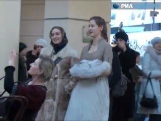 Радуйся! (Рождественский флэшмоб в одном из торговых центров г. Москвы)