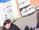 я, со своими лучшими подругами на всём белом свете,гуляем после школы