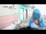 Лобовое столкновение. Девочка так усердно укрывалась от ветра, что не заметила подехавшую машину