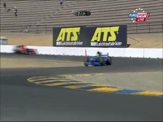 AutoGP 2012, 7 этап - США (Сонома), первая гонка (на русском)