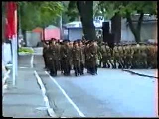Строевой смотр 1321 МСП,г. Ютербог, 1991 г. ГСВГ-ЗГВ.