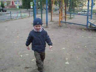 Конкурс рисунков_с папой на прогулке_6 октября 2011
