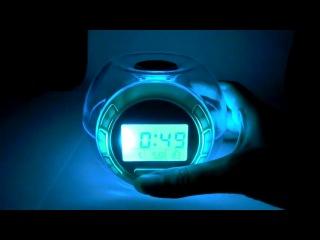 C48 - Будильник с прекрасной 7мицветной подсветкой