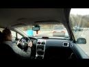 Peugeot 307cc. Объезд лося