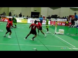 Кунг-фу  волейбол или футбол