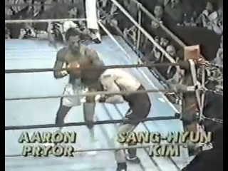 1983-04-02 Aaron Pryor vs Sang Hyun Kim (WBA World light welterweight title)