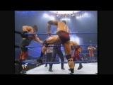 Undertaker & Kane and The Rock vs Kurt Angle and Edge & Christian(WWF SmackDown 22.02.2001)