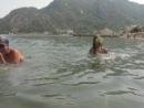 Выступление Российской сборной по синхронному плаванью на Турецком побережье