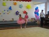 Танец  участием дочки на выпускном в детском саду