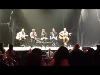 If I Ruled The World - Big Time Rush acoustic 22512 The Fox Detroit