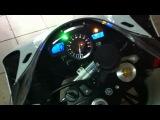 Yamaha R1 2008 exhaust Yoshimura carbon fiber