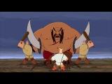 Второй любимый момент из мультфильма Алеша Попович и Тугарин Змей