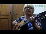 Бабулька отжигает на гитаре La Bamba