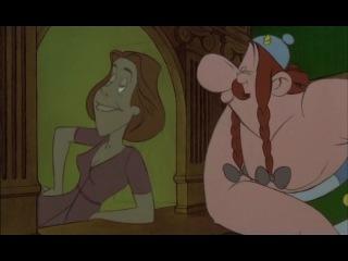 Отрывок из мультфильма 12 подвигов Астерикса