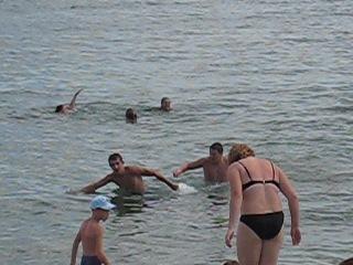 Коктебель 2011, 22августа) пляж))) Ребята резвятся))))))