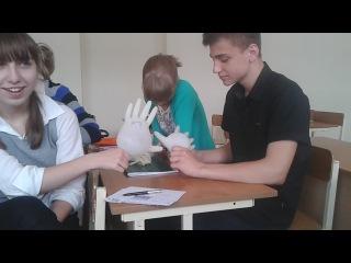 Никита и резиновые перчатки