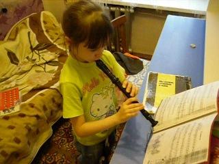 Флейта учим уроки