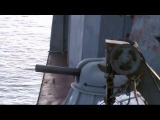 Российский флот. БПК Маршал Шапошников. Расстрел пиратов в Аденском заливе 2010