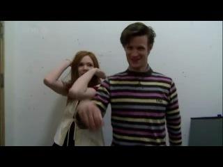 Танец Мэтта и Карен - фан-видео Мэтт Смит (Matt Smith). - Фан Партия » Freewka.com - Смотреть онлайн в хорощем качестве