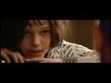 Удаленная сцена из фильма «Леон»: Матильда угрожая убить себя, играя в «русскую рулетку»