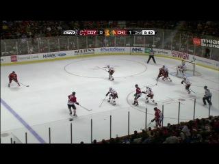 НХЛ 2012. Чикаго Блэкхоукс - Калгари Флеймз (11.11.2011)