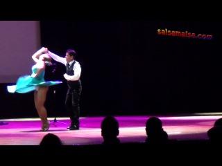Luis Vazquez & Melissa Fernandez (Italy) Showdance @ Istanbul International Dance Festival 2011