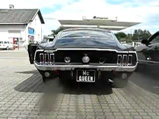 MUSTANG FASTBACK GT 390 BULLITT 1968 EXHAUST