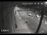 Ужасная авария из-за гонок стритрейсеров по ночному городу