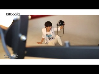 130918 [BTS] MyungSoo - Japanese K-pop magazine Billboard Korea Bonus DVD making