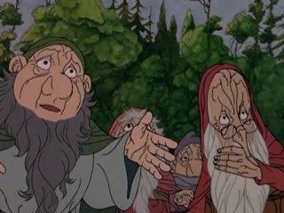 Хоббит / The Hobbit (мультфильм, фэнтези, семейный) (Жуль Басс, Артур Ранкин мл.) (1977)