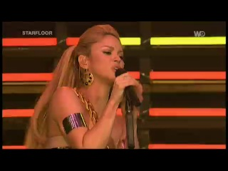Shakira - She Wolf, Did It Again & Hips Don't Lie (Starfloor)