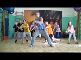 Урок - Уличные танцы *  Хип-Хоп для детей ( 6-12 лет) *720* HIP-HOP * STREET DANCE *S
