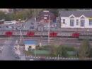 Авария на ЖД переезде в Щербинке