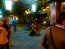 Уличный музыкант ночь с 21 на 22 июня 2013 Невский пр. Питер. 2-ая песня