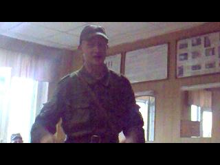 Прощание с армейской жизнью в/ч 3671