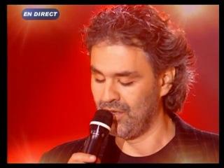 Andrea Bocelli & Gregory Lemarchal - Con te partiro