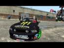 Shelby GT500 Monster Energy и MAZDA RX-8 Redbull дрифт в гта 4