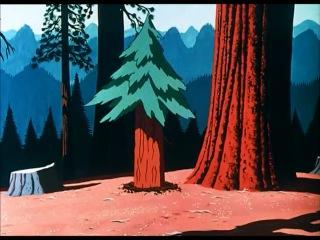 Чип и Дейл и Дональд Дак Up a tree