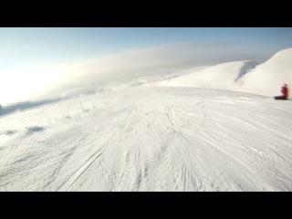 2000 метров тупого спуска... За два дня до этого спуска, при падении порвал, связки плеча. А в переди было ещё 10 дней отпуска..