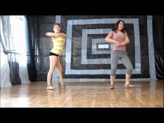 Снова Алина и Настя.С новым для вас маленьким танцом!