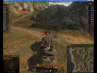Прекрасный бой на премиумном танке ИС-6 карта