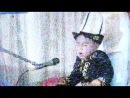 Местное киргизское TV. Манасчи.