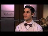 A Moment of Glee: Darren Criss Really Loves Hanson