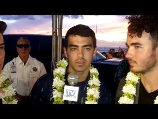 The Jonas Brothers Talk Hawaii Five-0