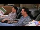 Смешной момент из сериала Друзья - Джо и Чендлер смотрят Бивис и Батхеад. (720 HD)